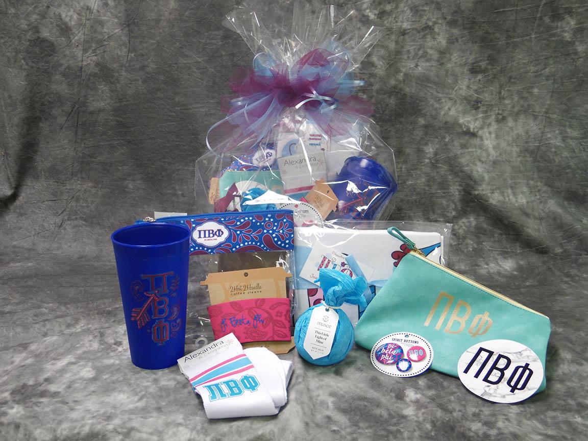2018 Pi Beta Phi Bid Day Basket Medium