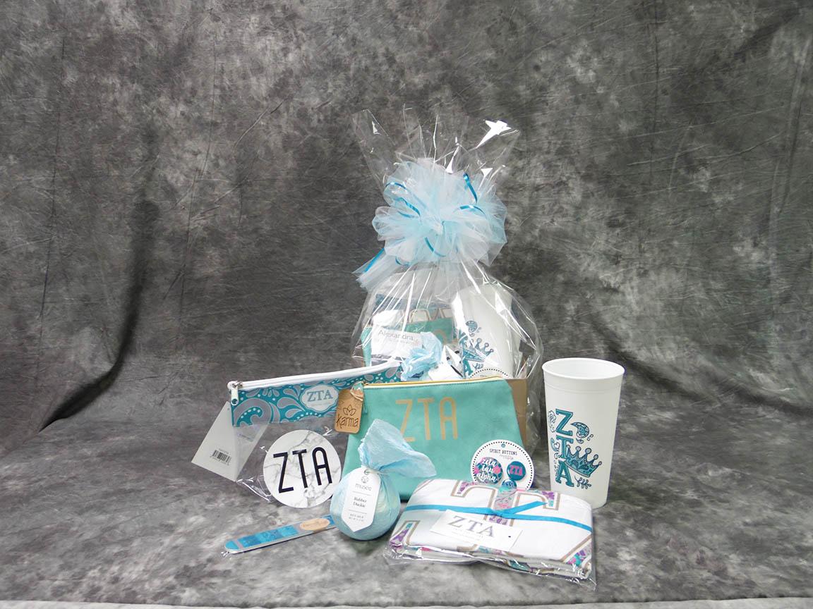 2018 ZTA Bid Day Basket Medium