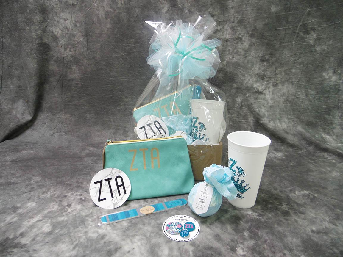 2018 ZTA Bid Day Basket Small