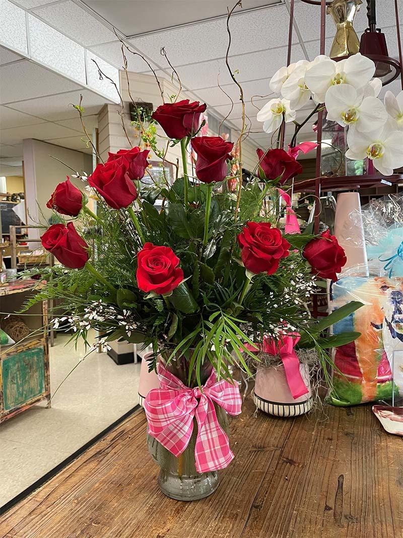 Our rose arrangements