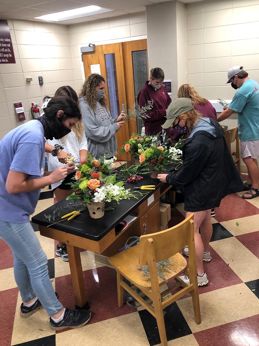 Floral Management Students 2