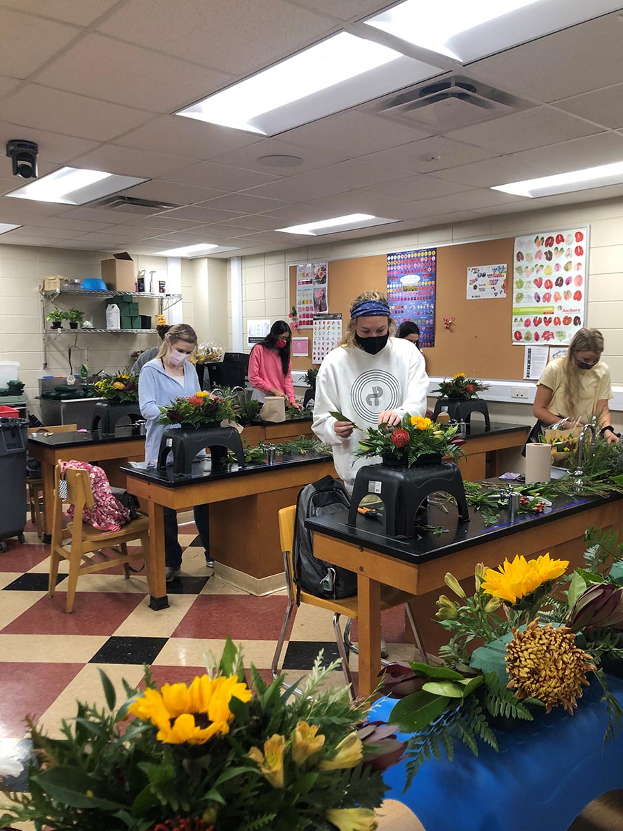 Floral Management Students 3